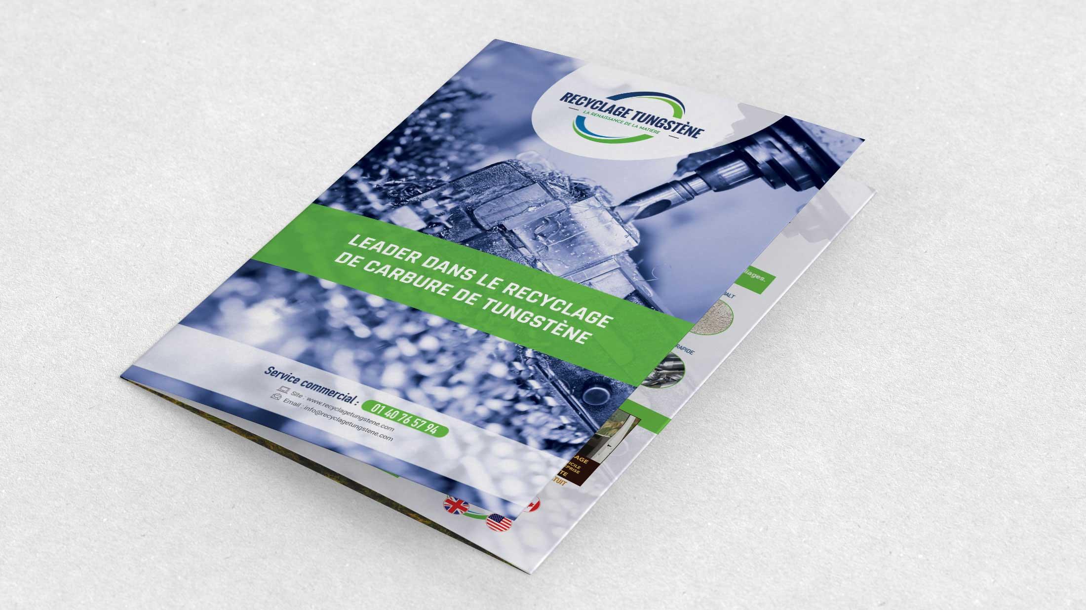 Brochure recyclage tungstène